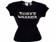 Toby's Warrior Swarovski Crystal Rhinestone T Shirt
