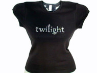 Twilight or Eclipse Swarovski Crystal Rhinestone T Shirt