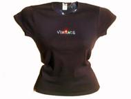 Versace Inspired Swarovski Crystal Rhinestone T Shirt Top