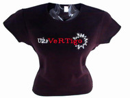U2 Vertigo Swarovski crystal rhinestone t shirt