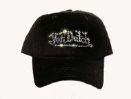 Von Dutch inspired rhinestone baseball cap