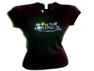 Von Dutch Inspired Swarovski Crystal Rhinestone T Shirt