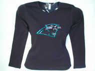 Panthers Swarovski crystal rhinestone t shirt