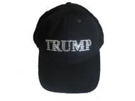 Trump sparkly rhinestone baseball cap hat