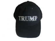 Biden or Trump sparkly rhinestone baseball cap hat