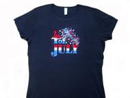 4th Of July rhinestone t shirt