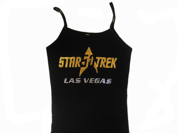 Star Trek 50 Anniversary Sparkly Rhinestone Shirt Tank Top