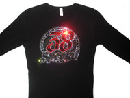 38 Special sparkly rhinestone concert tee shirt