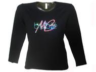 Michael Buble Swarovski rhinestone concert tee shirt