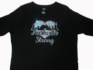 Nashville Strong Tornado Swarovski rhinestone t shirt