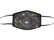 Swarovski Crystal Face Mask