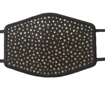 Swarovski crystal rhinestone sparkly face mask