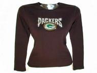 Packers Swarovski crystal rhinestone ladies t shirt