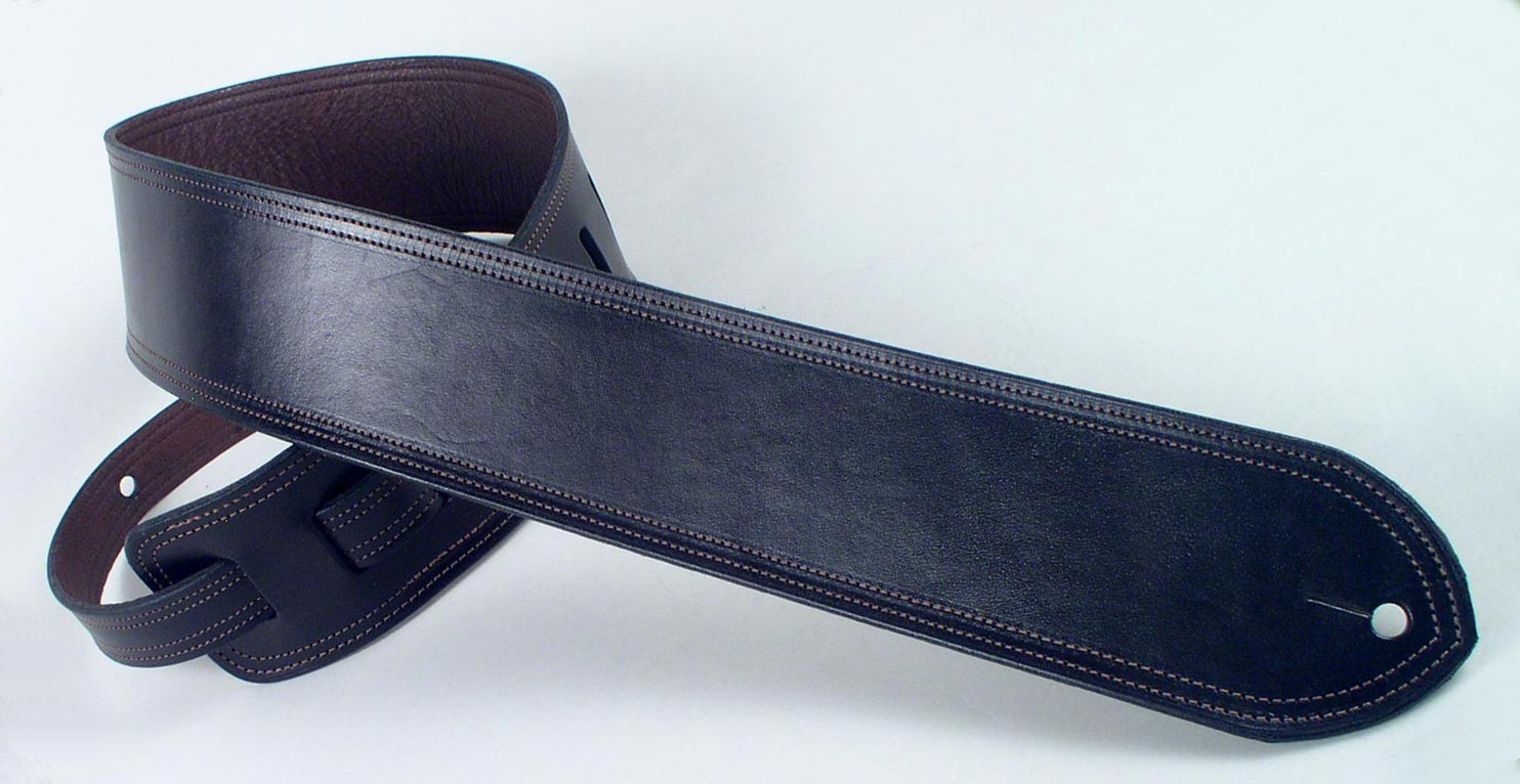 acoustic leather guitar strap