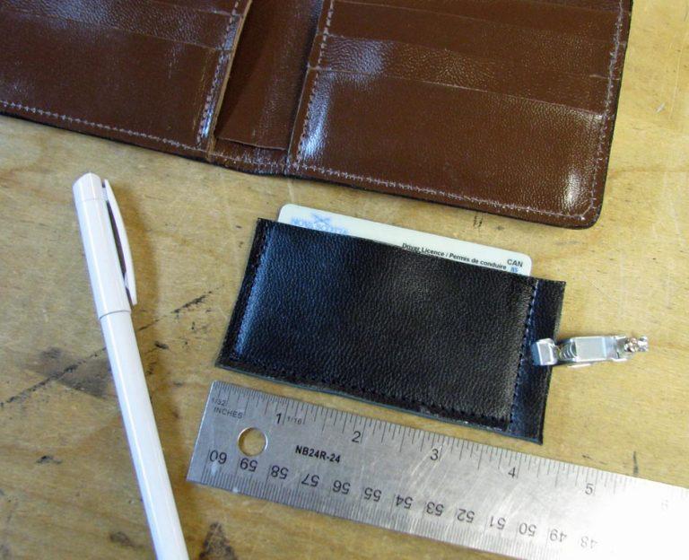 Women's Leather Wallet Design Process