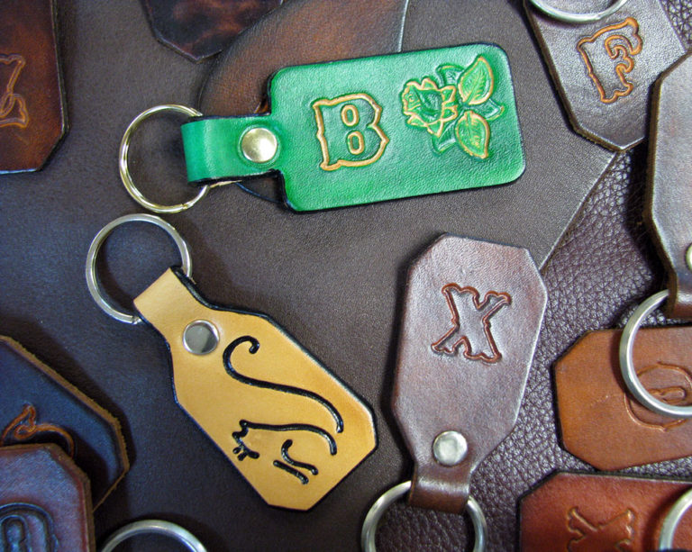 The Finished Custom Key Fob