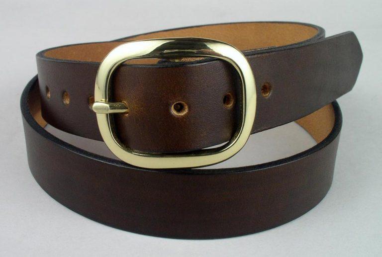 full grain leather belt