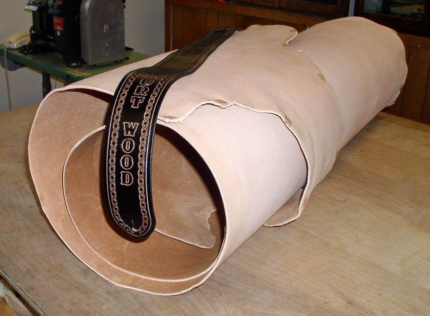 Leather Hide For Making Customized Guitar Straps