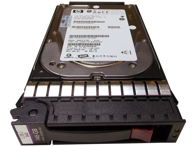 "HP 376595-001 Hard Drive 146GB 15K SAS 3.5"" in Tray"