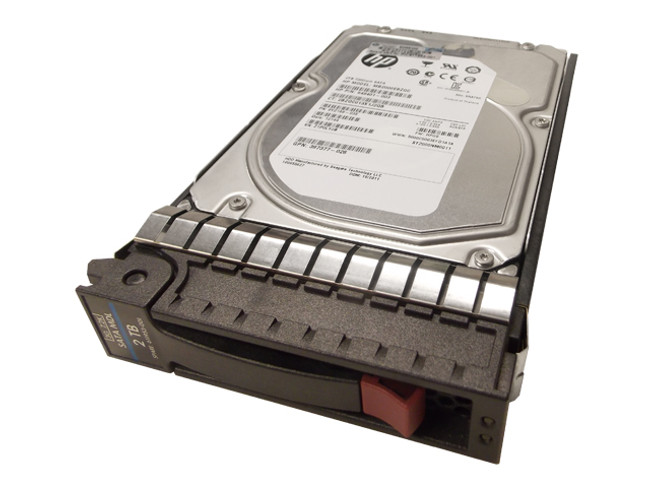 "HP 611953-001 Hard Drive 2TB 7.2K SATA 3.5"" in Tray"