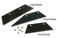 Replacement Trapezoid Hoe Blades