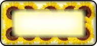 Sun Flower Border