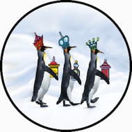 3 King Penguins BR