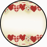 Fabric Hearts BR