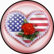 Flag Heart br