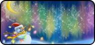 Aurora Snowman