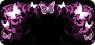 Flutterby Black & Pink