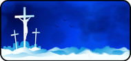 Three Crosses Blue