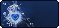 Bright Blue Valentine