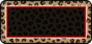 Leopard Print Black