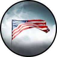 Flag in Clouds BR