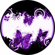 Bubble Fly Purple BR