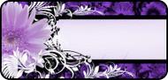 Daisy Banner Purple