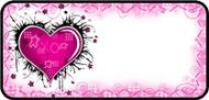 Dark Heart Pink