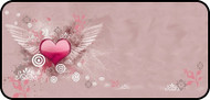 Flying Heart Pink