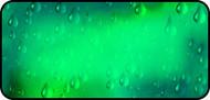 Raindrops Green