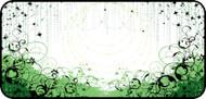 Raining Stars Green