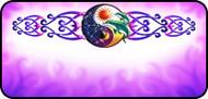 Solar Yin Yang Purple