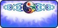 Solar Yin Yang Blue