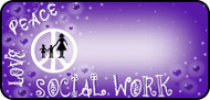 Social Work Purple