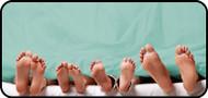 Family Feet Aqua