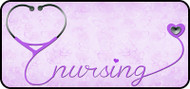 Nursing Love Purple