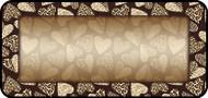 Leopard Hearts Tan
