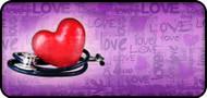 Love Health Purple