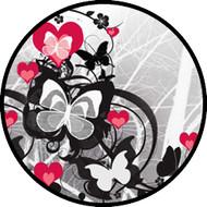Flutter Hearts Red BR