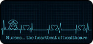 Heart of Healthcare Blue